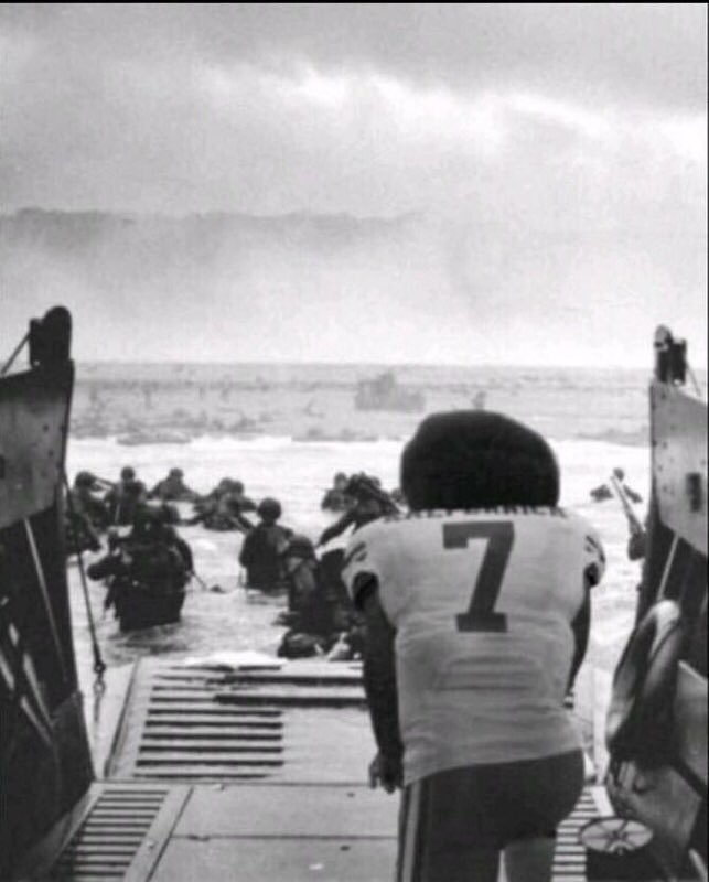 Green Beret Sniper Crushes Kaepernick With D-Day Photo