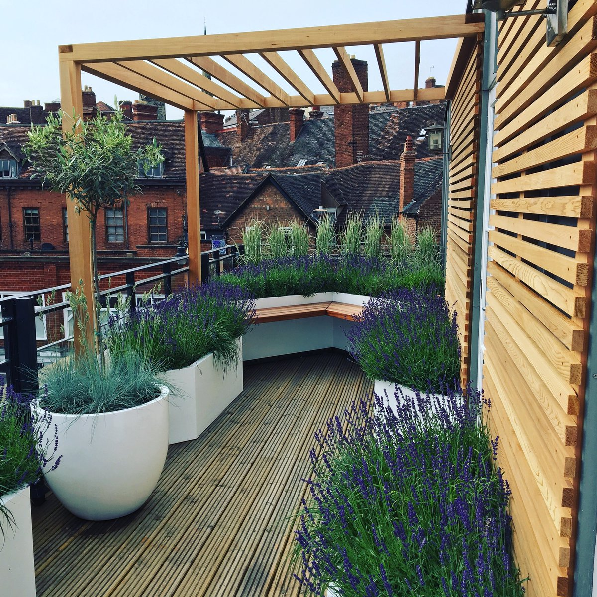 Paul Richards On Twitter Our Tiny Roof Terrace Garden In