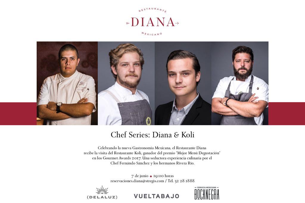 d2a87e653c ... Monterrey han causado revuelo en el medio culinario de México. Esta  noche están presentes en el restaurante Diana del  TheStRegisMC.