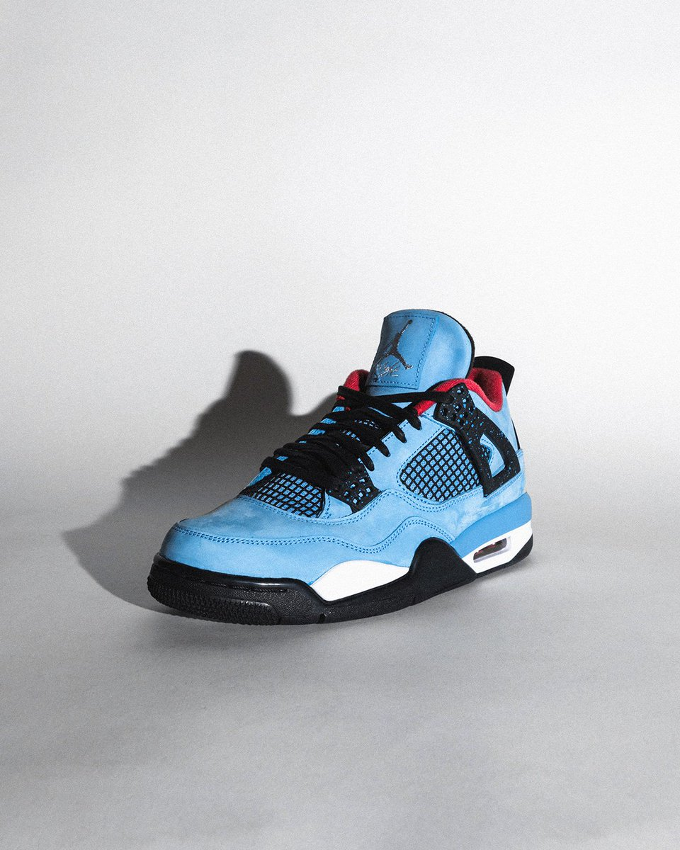 "21db417543bc0a Travis Scott x Air Jordan 4 ""Cactus Jack"" will be available Saturday  in-store to raffle winners. Raffle is now live and ends Friday at noon EST.  Enter Now  ..."