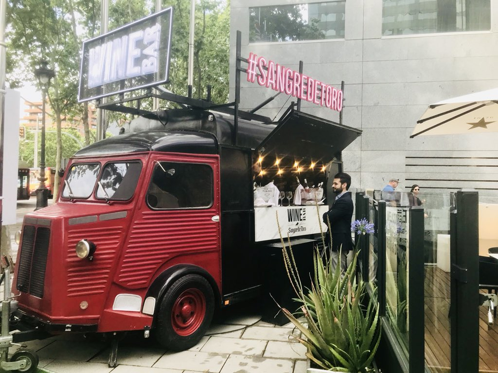 Leticia Ibáñez Sala On Twitter The Wine Truck Today