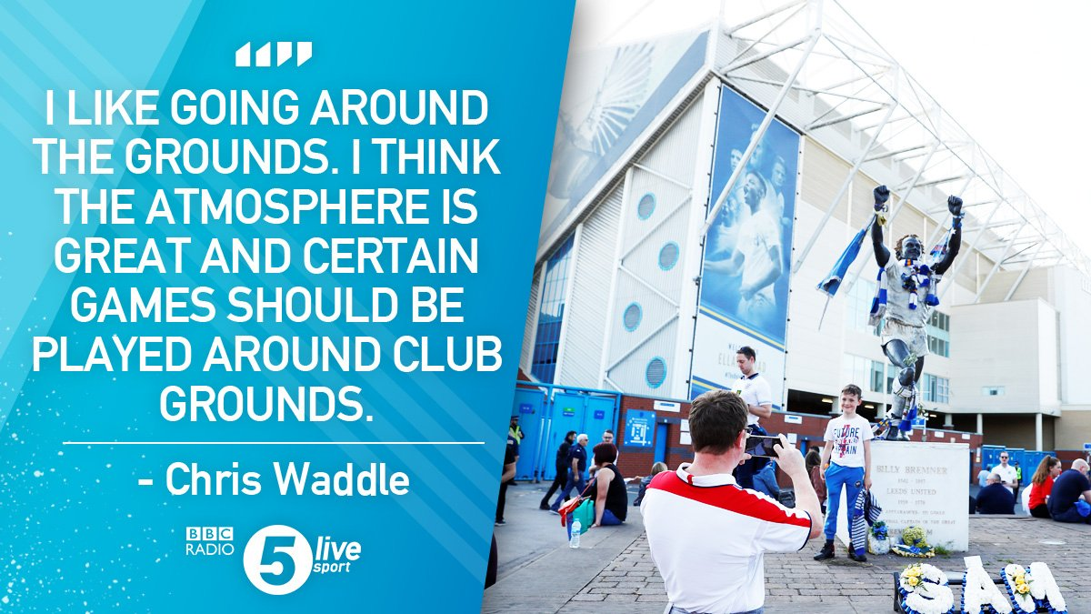 &quot;I think they should do this more.&quot;  Time to see England play more games away from Wembley? @chriswaddle93 hopes so....  #ENGCRC <br>http://pic.twitter.com/VWcFYKO4BN