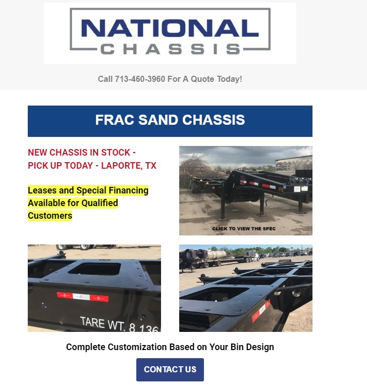 National Chassis on Twitter: