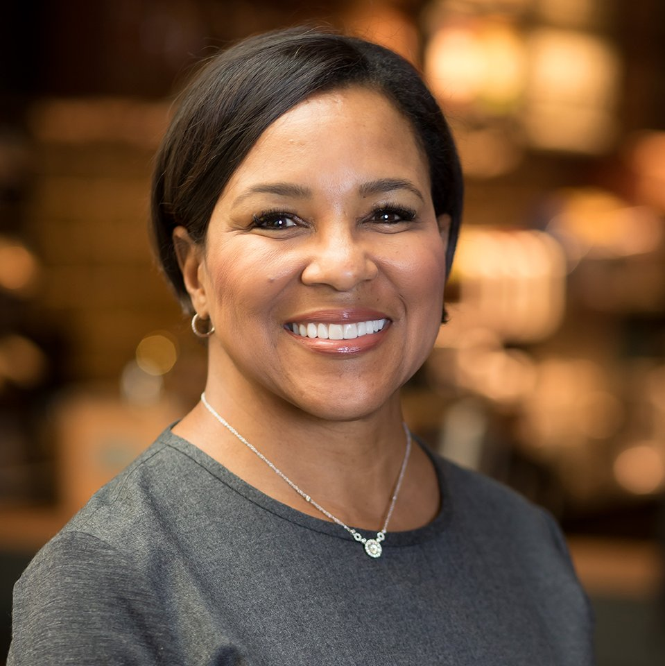 """National Partnership a Twitter: """"Tonight, we're proud to welcome Rosalind  Brewer, group president and @Starbucks COO. Rosalind is a trailblazer,  serving as the first woman and African-American to hold her position and"""