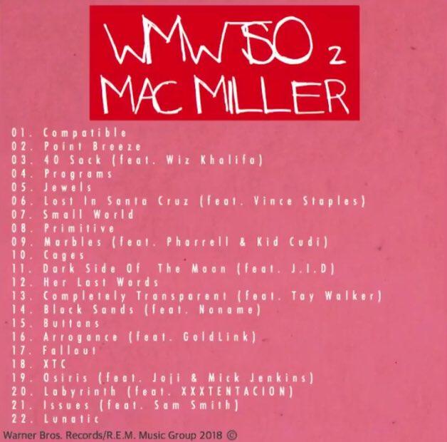 mac miller watching movies album tracklist
