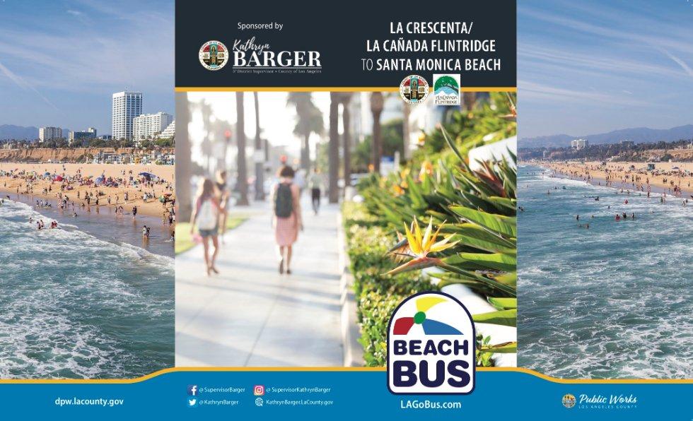 La Cañada Flintridge On Twitter Starting Tuesday June 12 The Summer Beach Bus Is Back Providing Rides From To Santa Monica