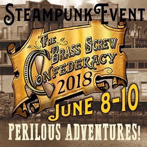 #Event Awesome of the Day: The Brass Screw Confederacy #Steampunk Festival (June 8-10, 2018) in #PortTownsend #Washington #USA via @TmOriginals #SamaEvent