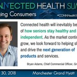 Image for the Tweet beginning: #Connectedhealth is an inevitable part