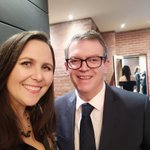 Forgot to post last night @TheASMR1 #MRW2018 dinner. Always great to catch up with @Frank_McGuire my matched politician from the @BioMedVic Researcher In Residence Program. #networking #advocacy
