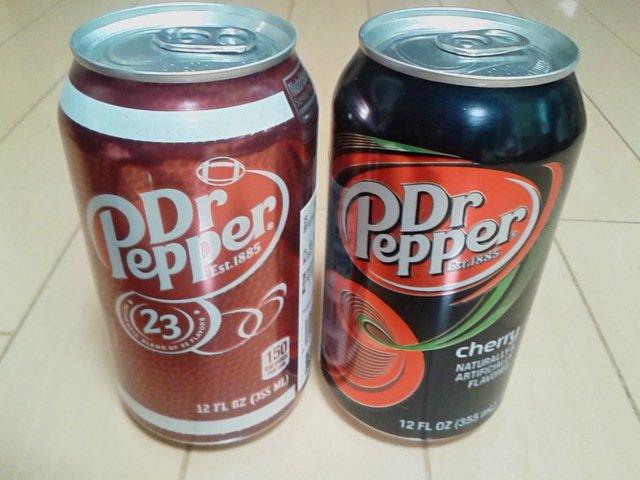 ドクターペッパーの味