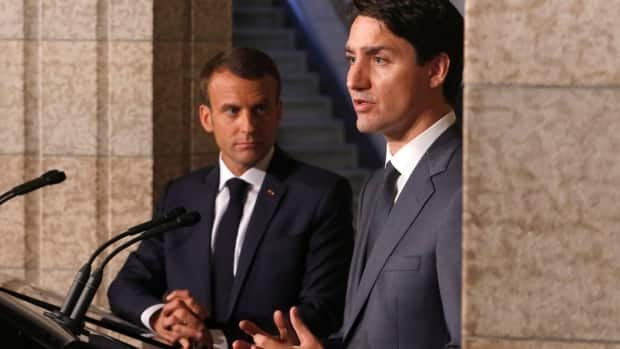 Trudeau, Macron to warn Trump at G7 summit that his tariff plan will backfire https://t.co/mdCIooLZdW https://t.co/12Y90CIcO9