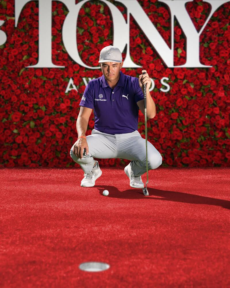 Wish I could be on the red carpet Sunday with my partner @GrantThorntonUS but I'll be spending my time on the green carpet preparing for the US Open #SupportingCast