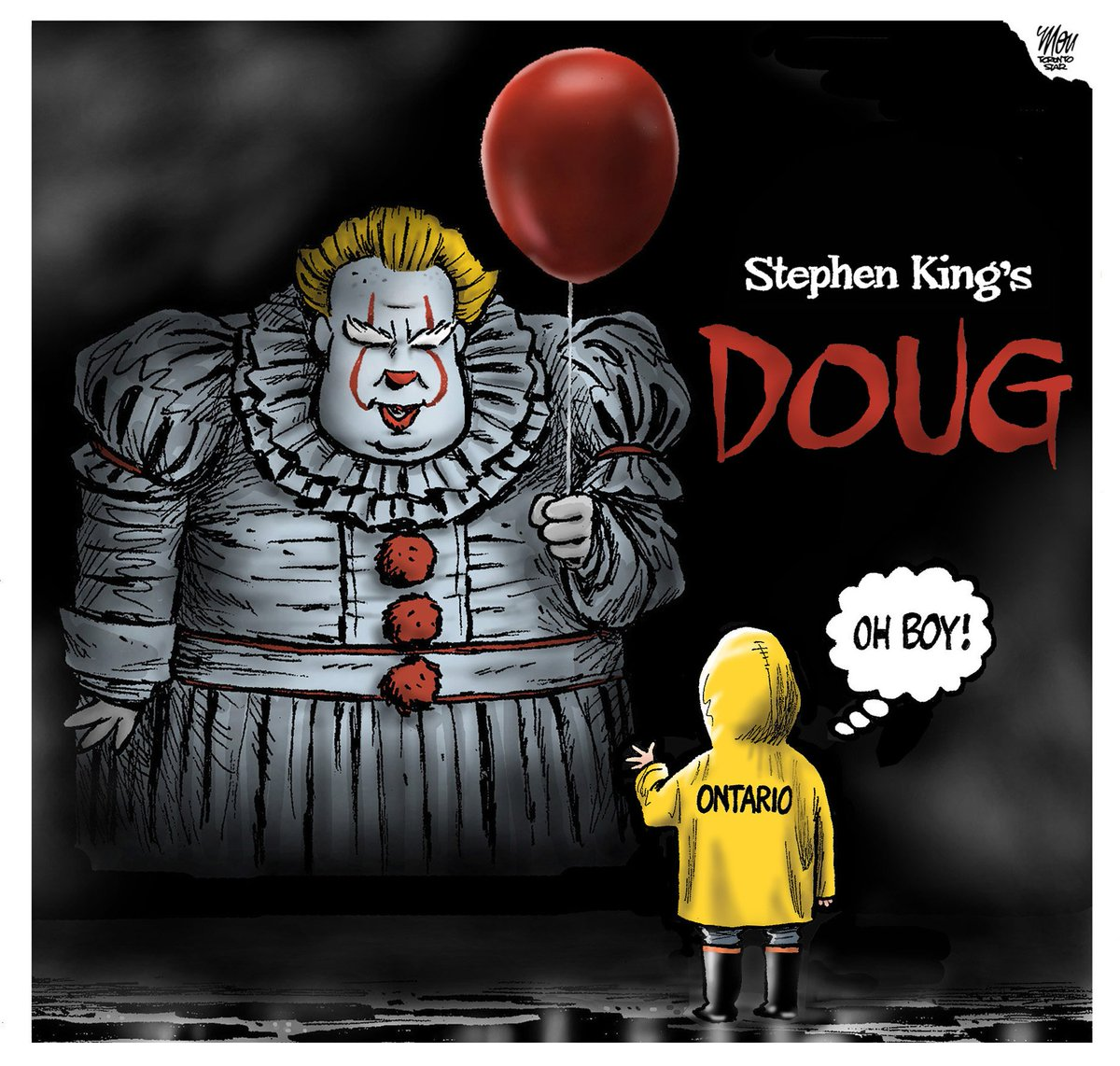 The Cartoon Dept. welcomes our new Premier #DougFord