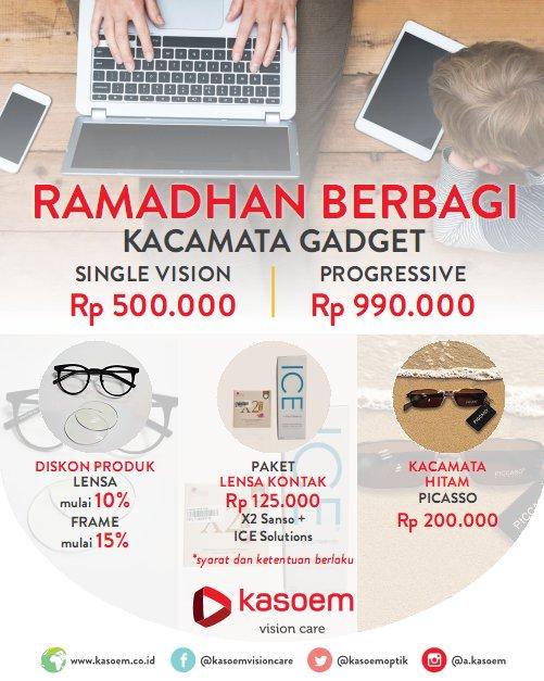 Promo Ramadhan Berbagi berlaku di seluruh cabang Kasoem Vision Care. http    optik d7f7544311