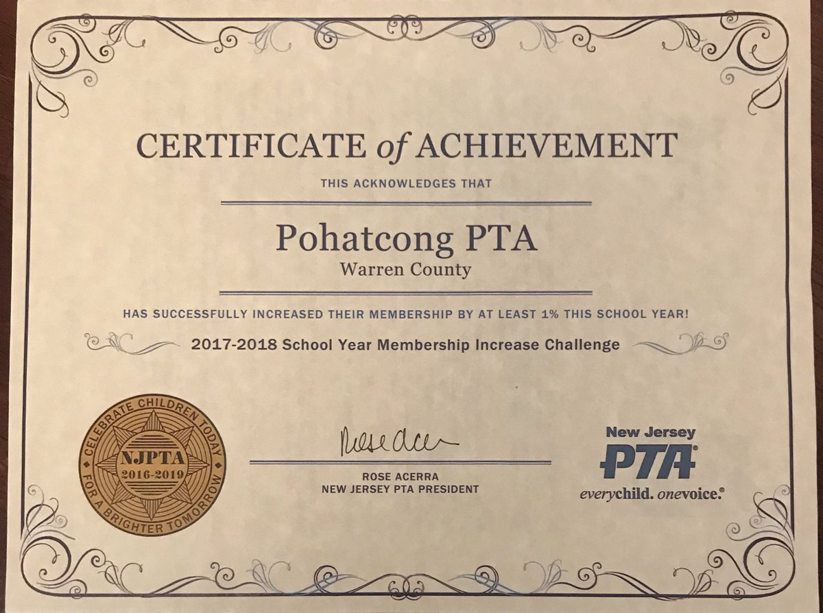 New Jersey Pta On Twitter We Are Proud Of Your Accomplishments
