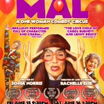 One WEEK until I opening my new show #MAL @ottawafringe  @crowningmonkey JOE boy is back and he is in love!!