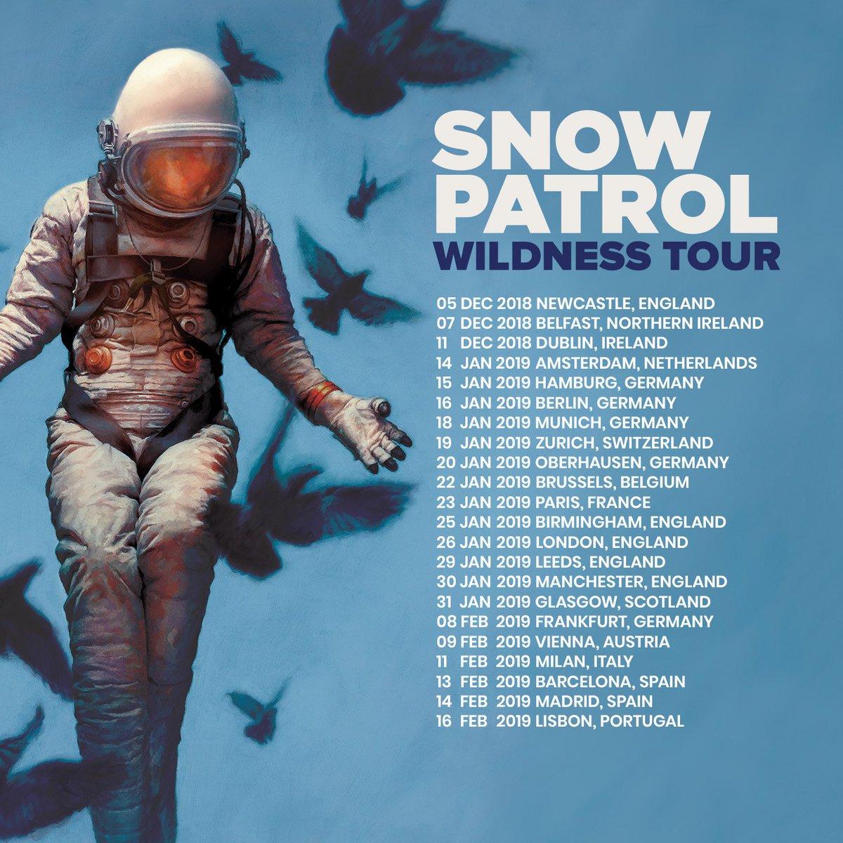 Resultado de imagen de snow patrol wildness tour