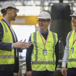 Great to take @marshall_steven to the Osborne Naval Shipbuilding Precinct today to see the Future Frigate infrastructure build and tour NUSHIP Brisbane and HMAS Waller currently receiving maintenance & sustainment. #auspol #ausdef