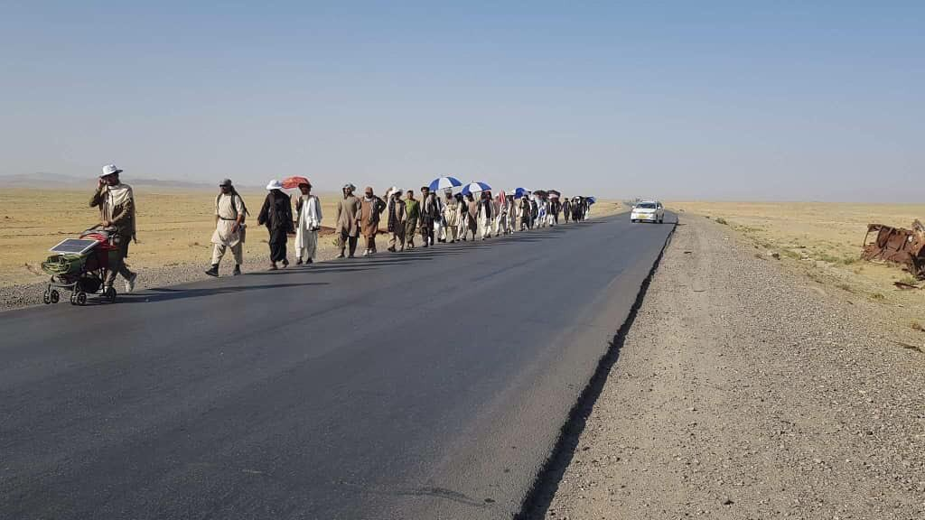 We should see the entire Afghanistan in march for peace not only Helmandis.
