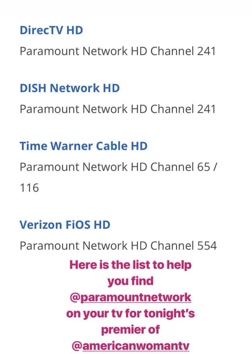 paramount network directv