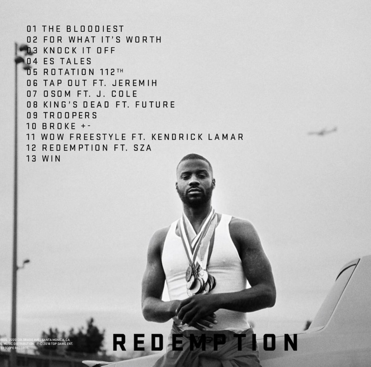 Image result for jay rock redemption tracklist