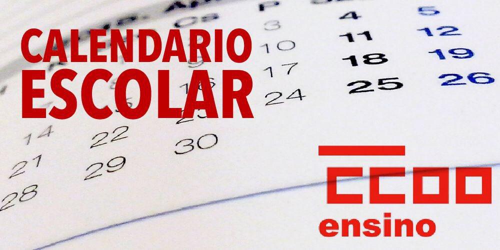Calendario Escolar Xunta.Ccoo Ensino On Twitter Publicada A Orde De Calendario