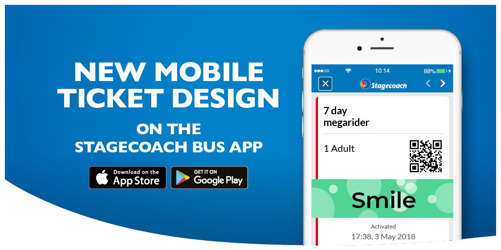 stagecoach gm on twitter we re introducing a new mobile ticket