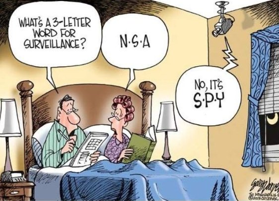 #FunnyFriday - Are you ever truly alone anymore? Chances are there is a SPY on the wall...  #jokes #J2Software #J2CSC #J2infosec #infosec #information #technology #spy #Government #CyberSecurity #Awareness #alone #surveillance #notourimage #CyberinAfrica<br>http://pic.twitter.com/xl2SNEXCSK
