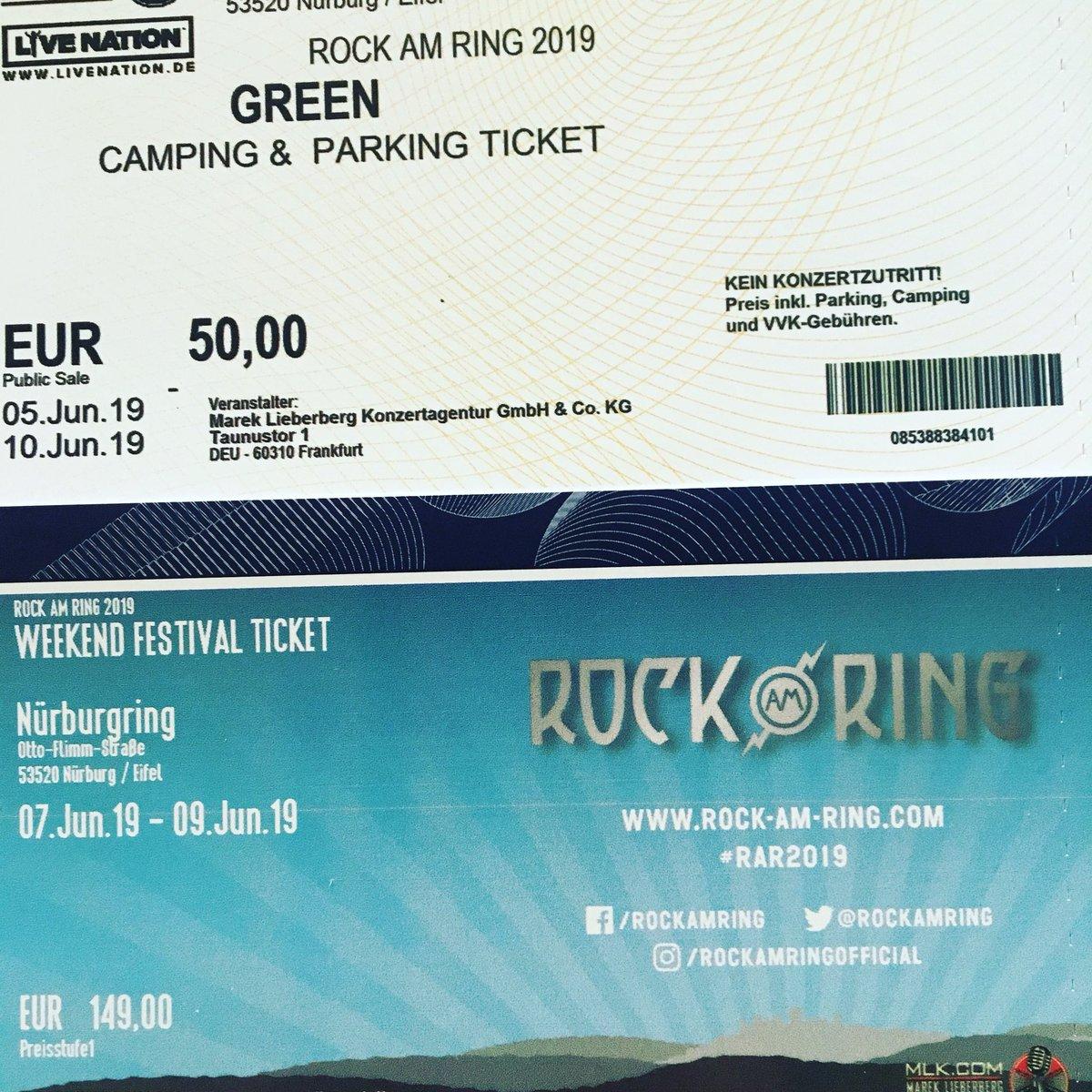 Rock Am Ring Karte.Screamingblatz On Twitter Freu Mich Jetzt Schon Auf Rock Am Ring