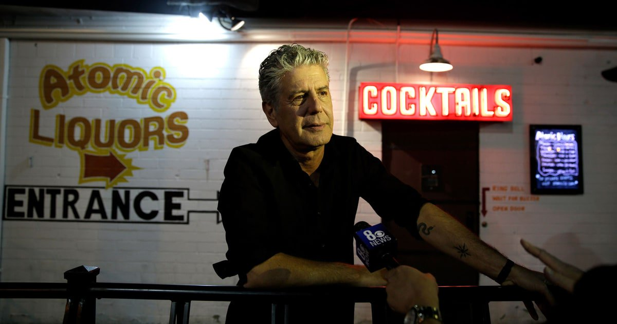 Reloaded twaddle – RT @RollingStone: In 2004, Anthony Bourdain shared his favorite songs with us, f...