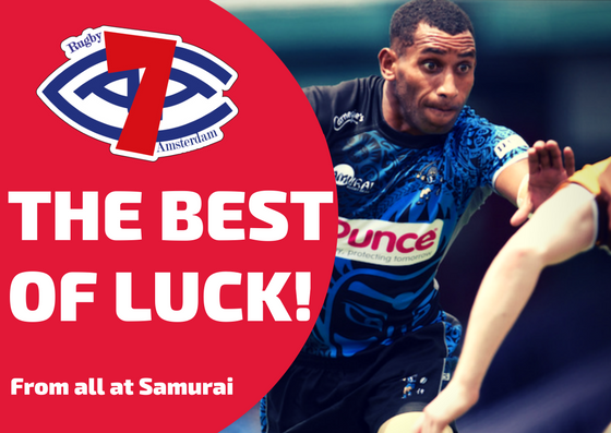 test Twitter Media - Wishing everyone competing in Amsterdam 7s over this weekend the very best of luck from all at Samurai Sportswear! #Amsterdam7s #SamuraiFamily https://t.co/7OHBbGJC9n