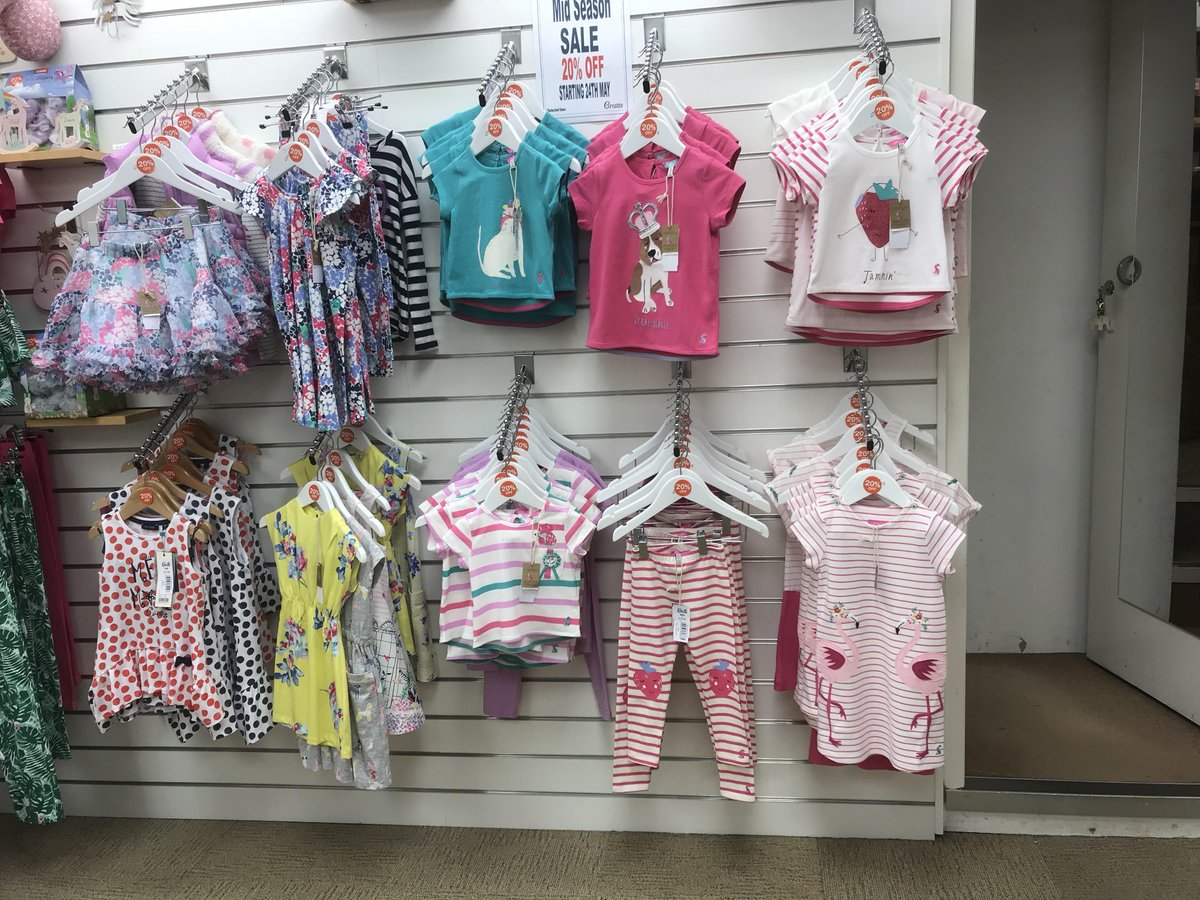 2af2efc342 A range of brands in store - Joules, blue seven, essential one and babybol  Stock up on summer wear while stocks last!