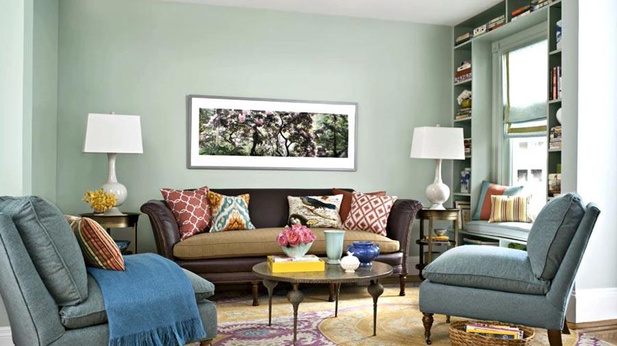 Bhg Flag Decor Living Room Carlton Landing