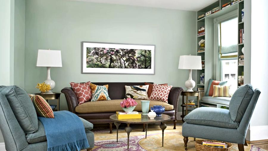Betterhomes gardens on twitter living room paint colors - What colour goes with lilac ...