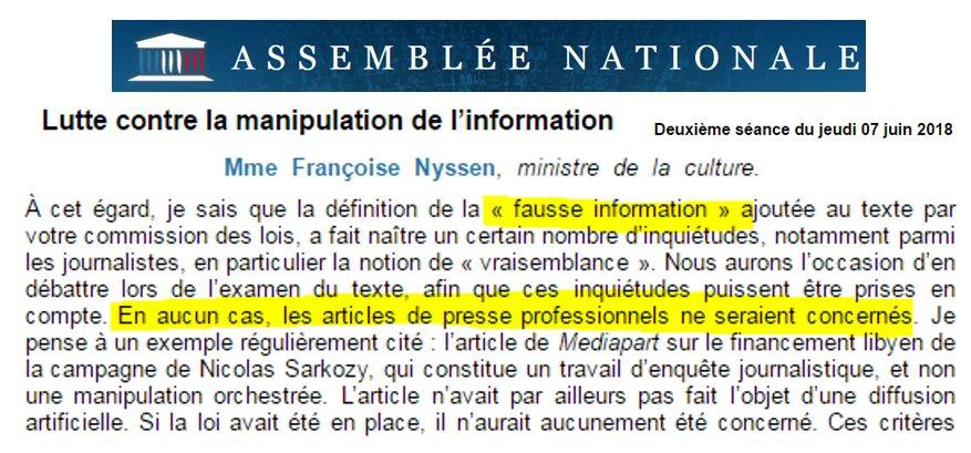 Neo-fascisme ? Les médias alignés seront dispensés de la loi sur les Fake News DfKRRTtX4AAkHty