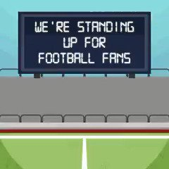 We're standing up for football fans by backing safe standing in stadiums. ⚽ With us? Share this �� https://t.co/nigTCkbOVj
