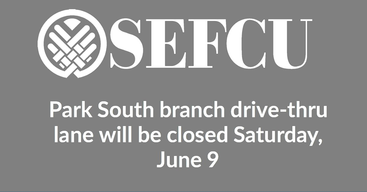 SEFCU (credit union) on Twitter:
