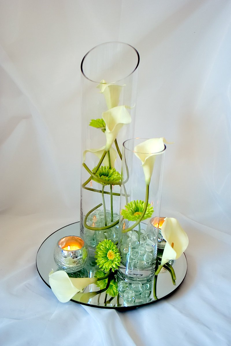 Silkfloralart On Twitter This Orchid Themed Wedding Table Centre