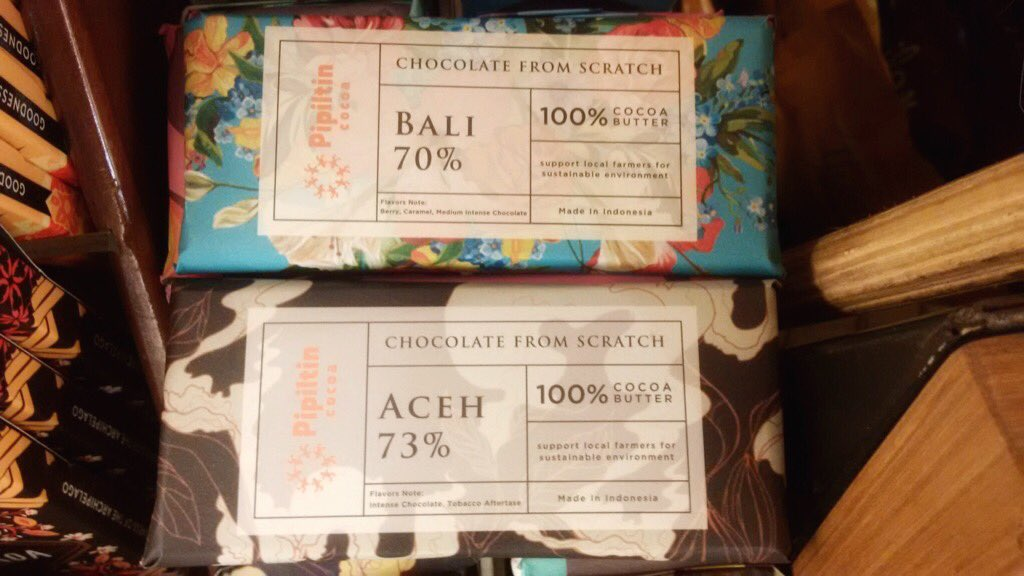 Luv d packaging ... #chocolate #indonesia #nice https://t.co/sYPlz6AMUq