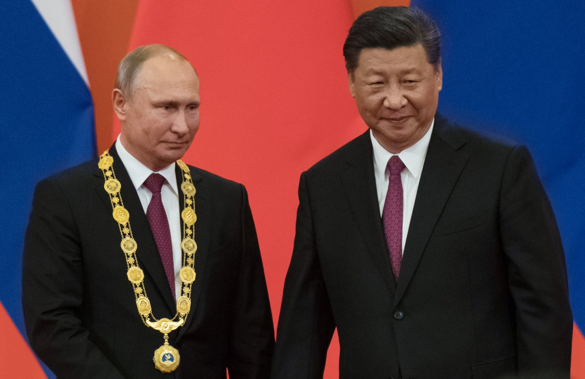 President Of Russia On Twitter Vladimir Putin Was Awarded The Chinese Order Of Friendship The President Is The First Foreign Leader To Be Awarded This Order Https T Co Vwhvktgx3a Https T Co H77hdtmy1k