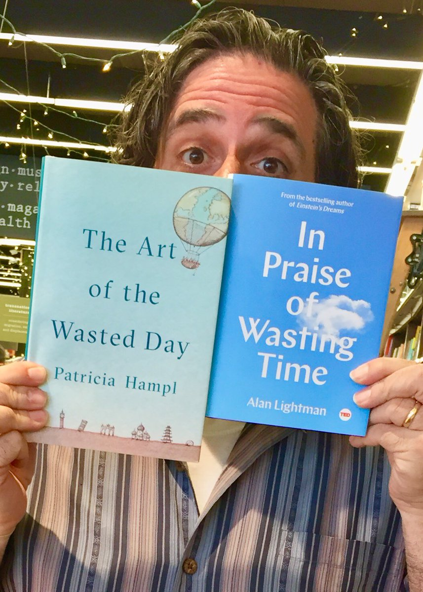 These books speak to me. #StraightFacedWaste #PatriciaHampl #AlanLightman @penguinrandom @SimonBookspic.twitter.com/bs8O3tuRio