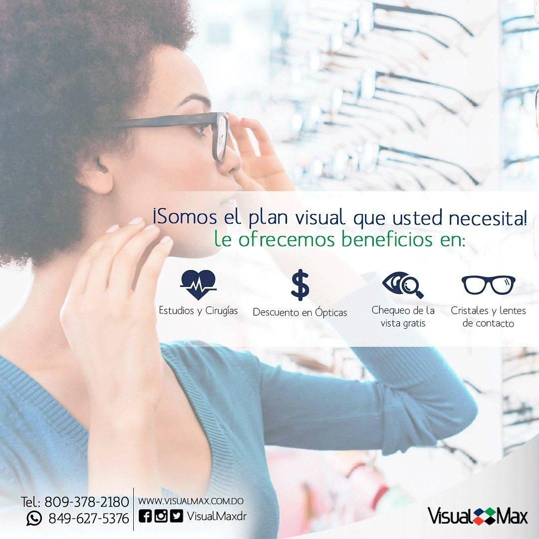 38f87ffbb0 Utiliza los beneficios de tu plan de salud en las diferentes sucursales de  @optimaxdr. Obtén importantes descuentos en monturas y bonos para gafas de  sol.