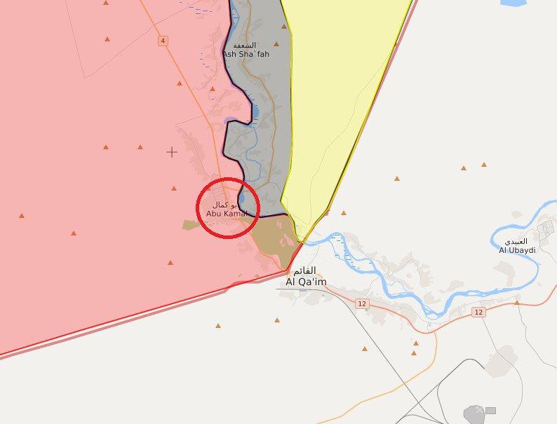 داعش يتراجع إلى أطراف مدينة البوكمال السوريه  إثر معارك عنيفة DfLCsCgWsAEFq51