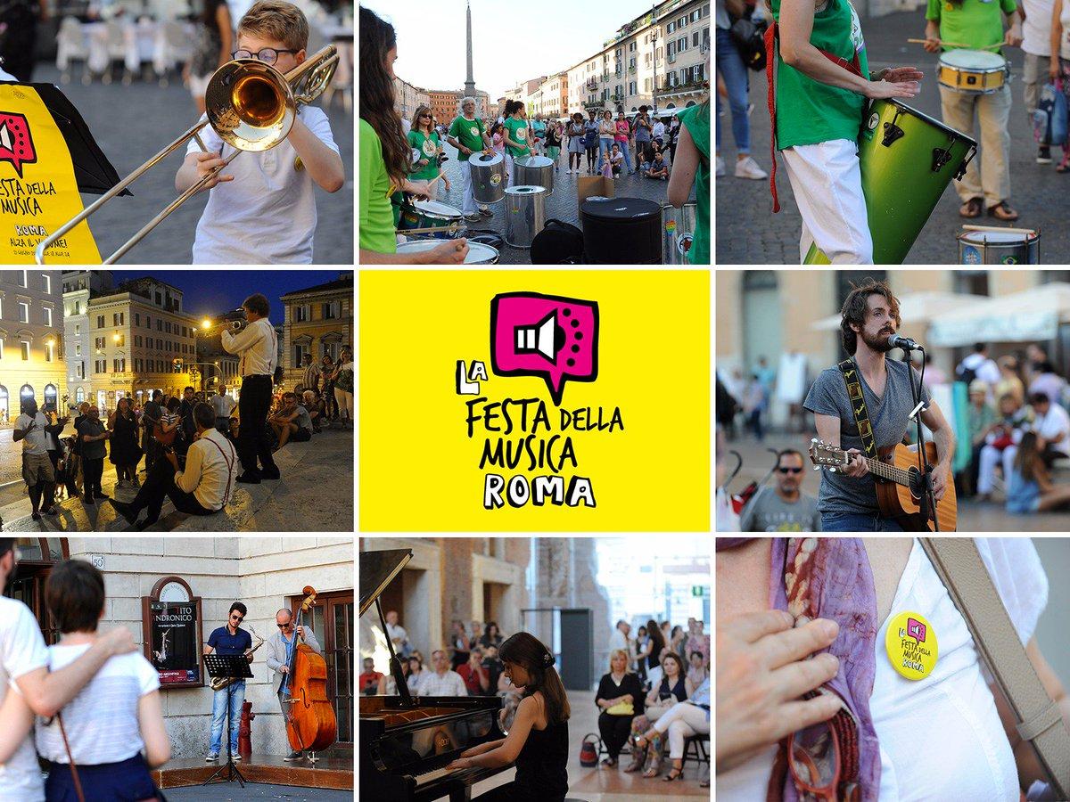 Torna la Festa della Musica di Roma: il 21 giugno, dal centro alla periferia, sarà una giornata di festa in cui tutti potranno suonare e cantare, fare musica, nelle strade, nelle piazze, nei cortili e nei giardini della città. Vi aspetto: goo.gl/Vx7r8a #fdm2018