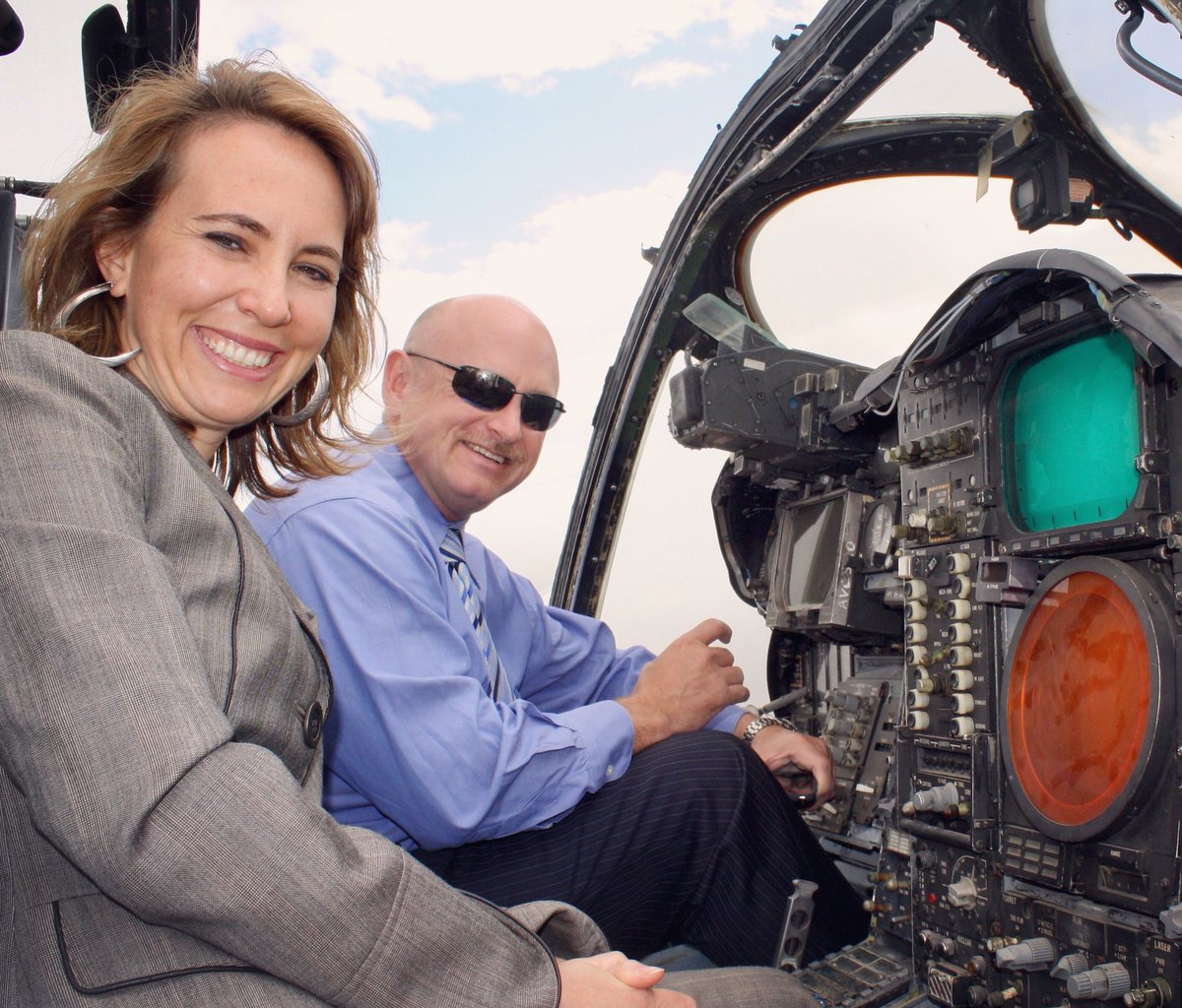 Happy birthday to the most inspiring and courageous person I know, my beautiful wife @GabbyGiffords.