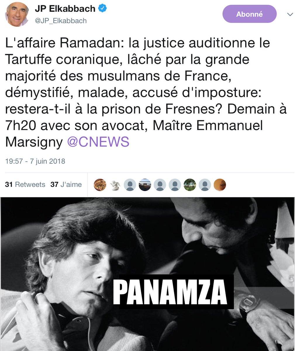 Elkabbach : dur avec Ramadan, tendre avec Polanski