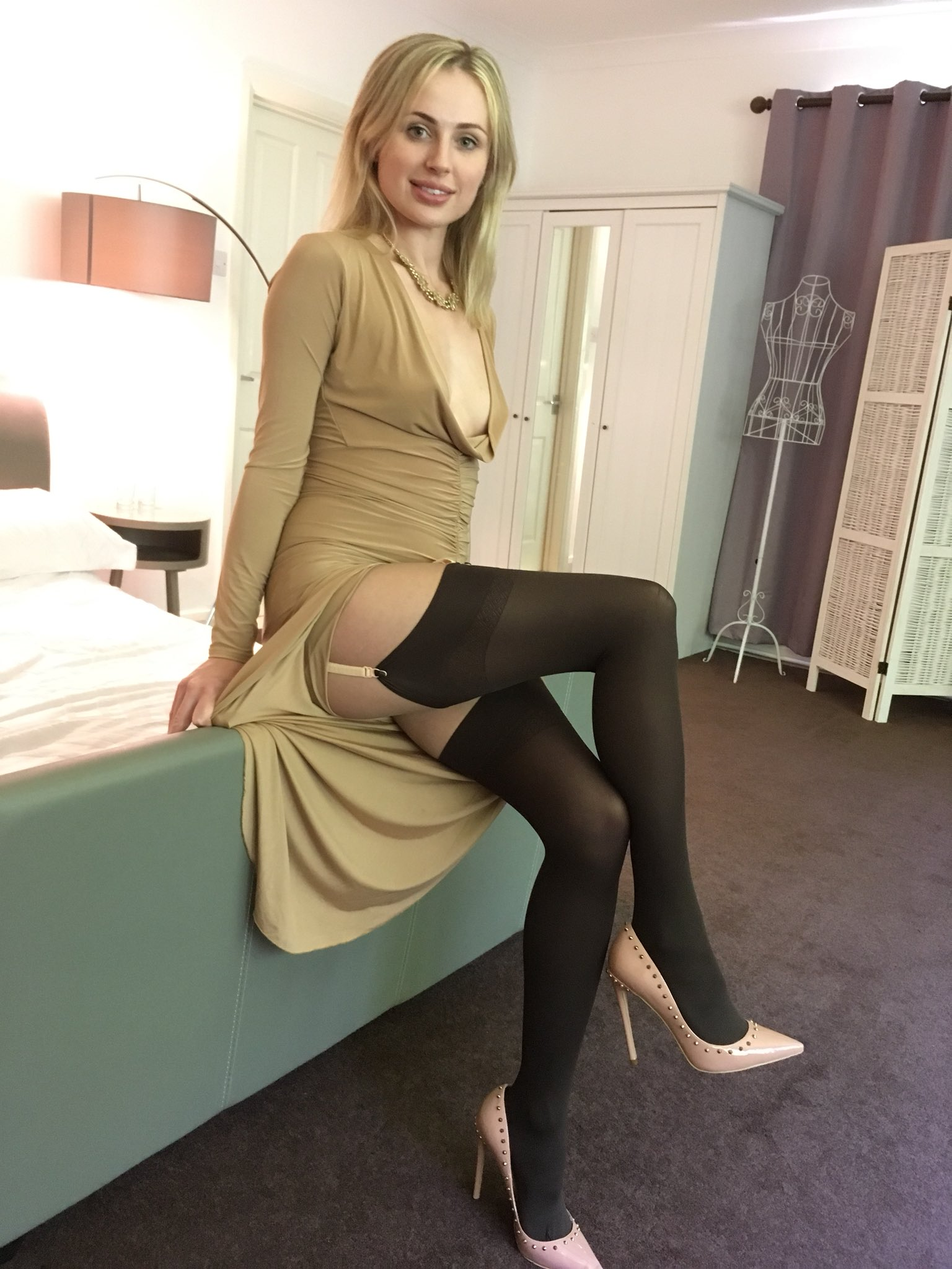 All Pantyhose only tease stockings speaking