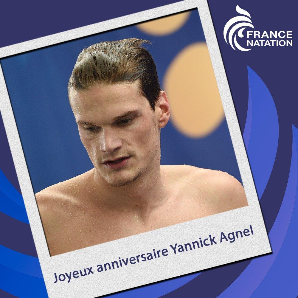 Ffn On Twitter Joyeux Anniversaire A Yannick Agnel Qui Fete Ses 26