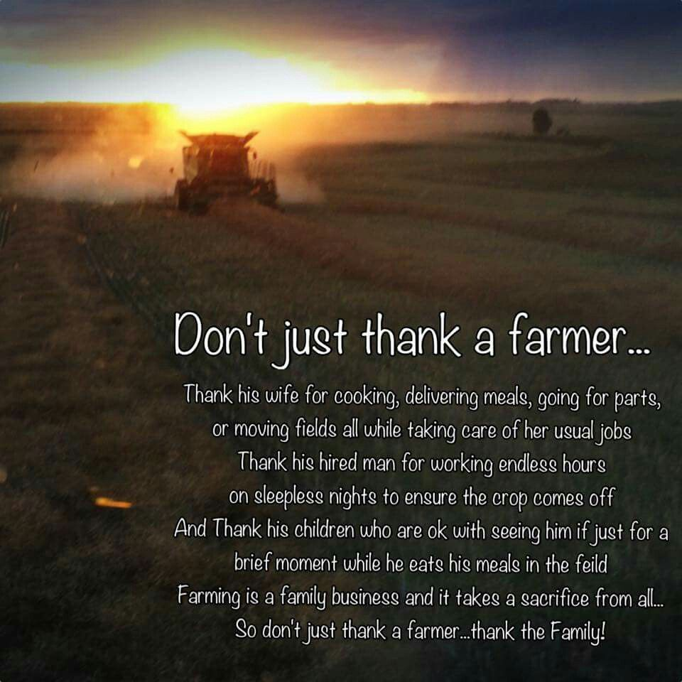 "Farming Quotes: Farm2ranch On Twitter: ""Not Only Should You Thank The"