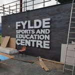 The new 'Fylde Sports and Education Centre' at Mill Farm is nearing completion...  @FyldeHockey @afcfct @AFCFYLDE @MillFarmSV